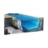 Строительство композитных (стекловолоконных) бассейнов