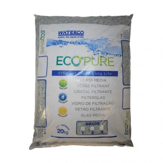 Фото - Песок стеклянный Waterco EcoPure 0,5-1,0 (20 кг)