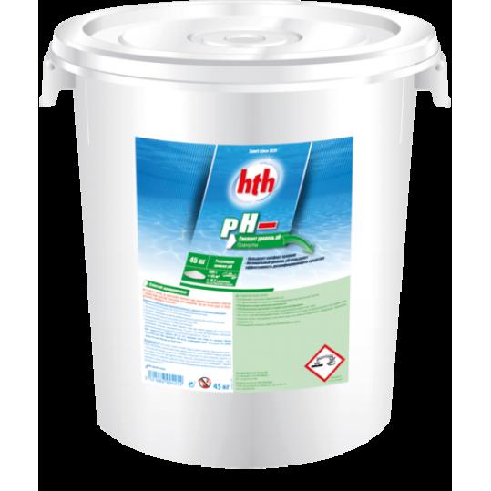 Фото - pH минус порошок, 45 кг hth pH MOINS MICRO-BILLES