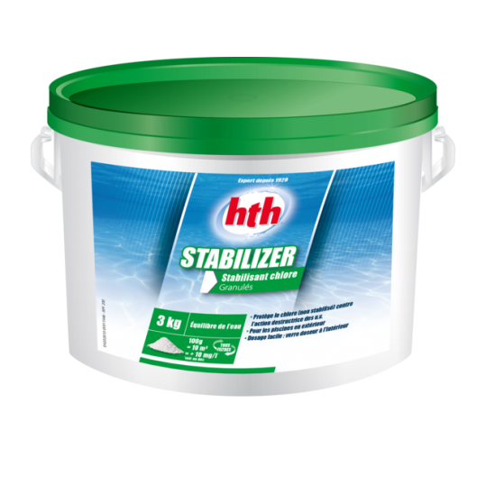 Фото - Стабилизатор хлора в гранулах hth STABILIZER GRANULES, 3 кг