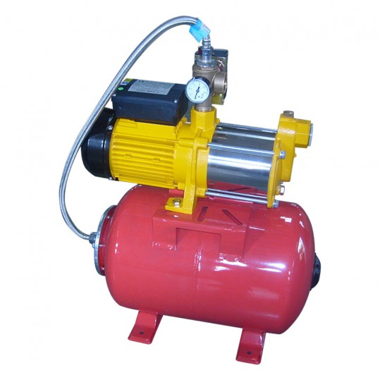 Фото - Насосная станция Aquaviva LX ABM2-9×5-H24 (220В, 2м3/ч, 1кВт) для водоснабжения