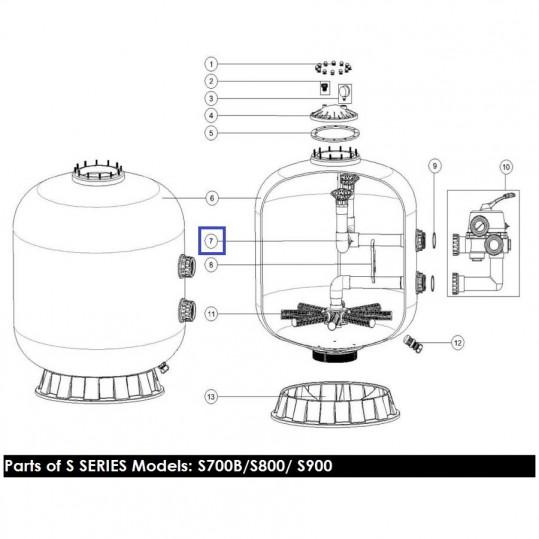 Диффузор фильтра Emaux S700 (B) 89011203