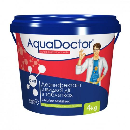Фото - Хлор шокового действия AquaDoctor C-60T 50кг (табл. 20гр)