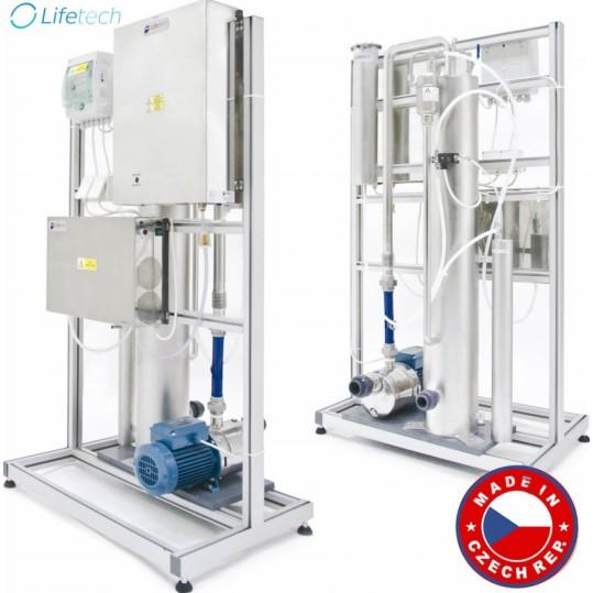 Фото - Озонаторная установка с осушителем воздуха и УФ реактором Lifetech (StarLine) Combi 4.0