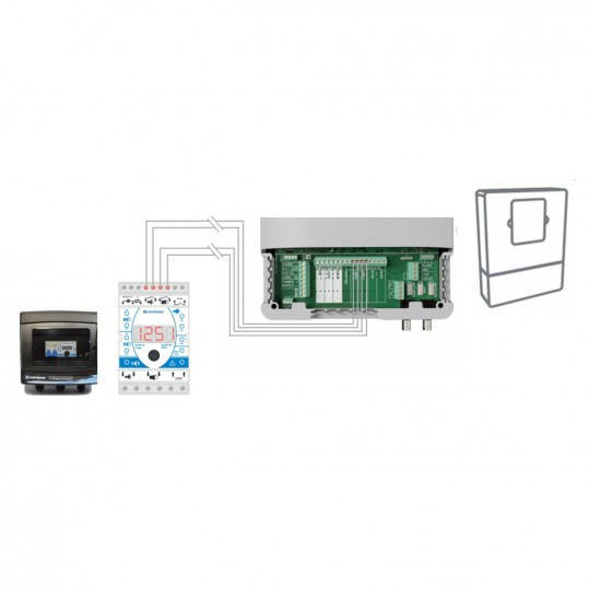 Панель управления аттракционами Hayward HPO-SWIM 400V NCC 16A - Обратный таймер