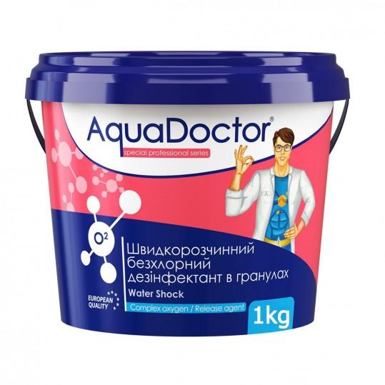Фото - Бесхлорная дезинфекция Aquadoctor O2 1 кг (активный кислород)