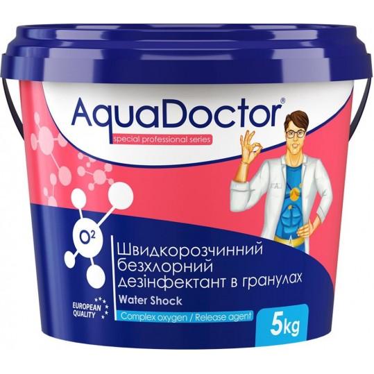 Фото - Бесхлорная дезинфекция Aquadoctor O2 5 кг (активный кислород)