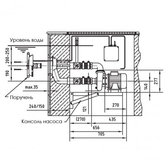 Противоток FitStar Taifun (Полный комплект)