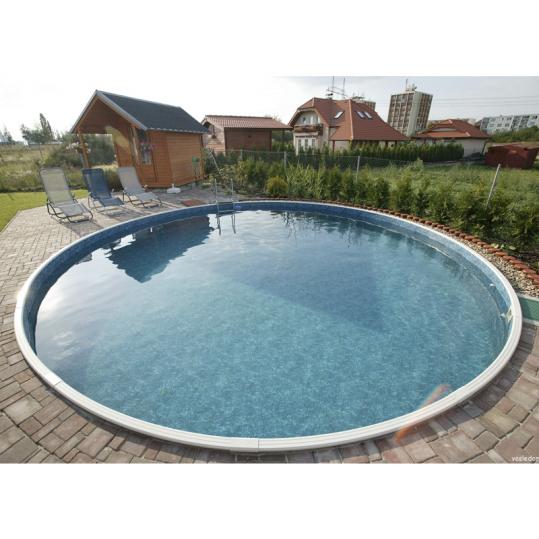 Бассейн круглый MILANO (5,00 x 1,2, пленка 0,8 мм)