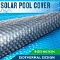 Фото - Солярное покрытие AquaViva Platinum Bubbles, 500мкм  (ширина 3, 4, 4.5, 5, 6, 7.5 м.)