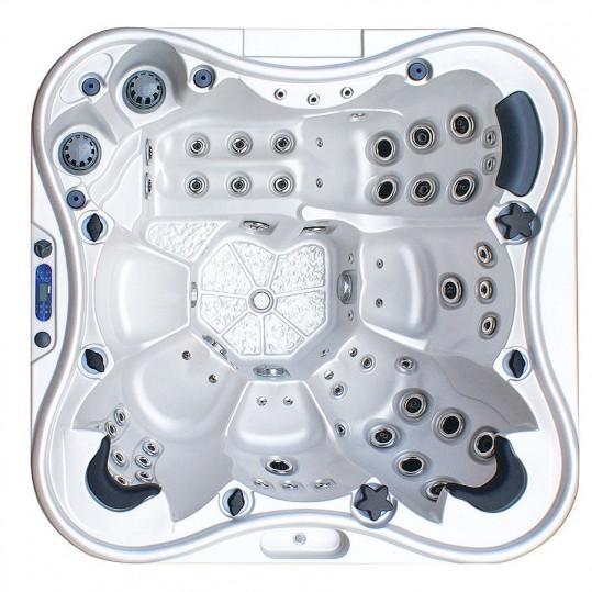 Гидромассажный бассейн IQUE Dreamline-II 2200-II-DD-BPM (WiFi+MICROSILK) (220х220х96)