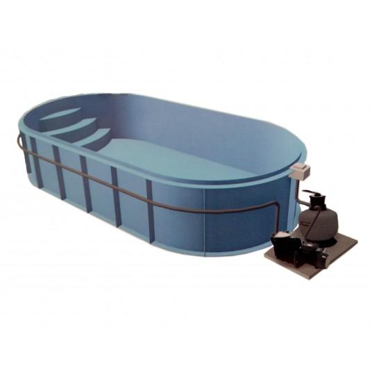 Фото - Полипропиленовый бассейн Basik (Модель имеет 8 размеров)