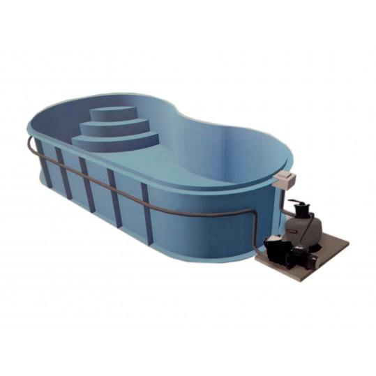 Фото - Полипропиленовый бассейн Fun (Модель имеет 4 размера)