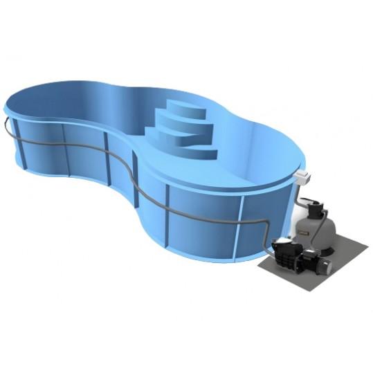 Фото - Полипропиленовый бассейн Nil (Модель имеет 4 размера)