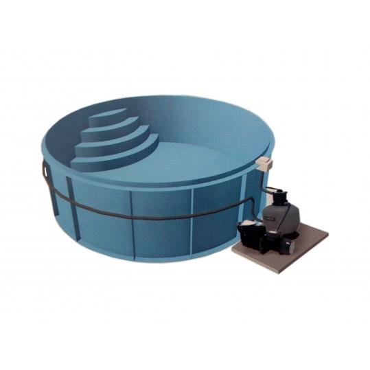 Фото - Полипропиленовый бассейн Sun (Модель имеет 6 размеров)