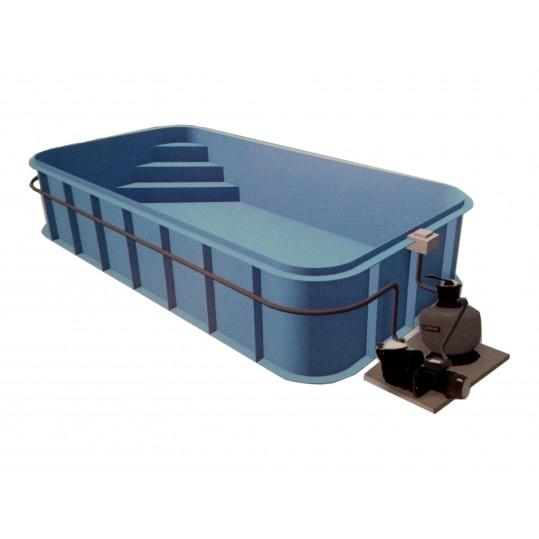Фото - Полипропиленовый бассейн Trend (Модель имеет 8 размеров)