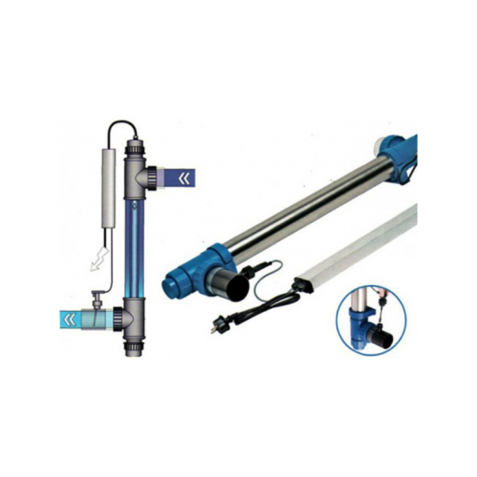 Ультрафиолетовая установка Blue Lagoon UV-C Amalgama 130 Вт