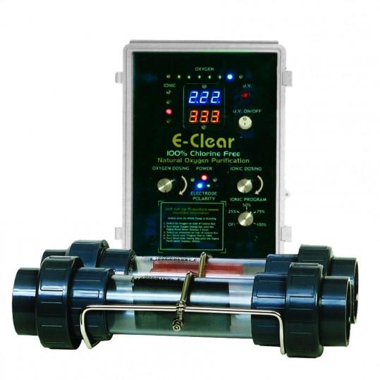 Фото - Бесхлорная система дезинфекции воды E-Clear MK7/CF1-75 (до 75 м³)