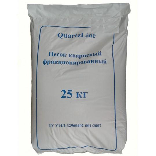Фото - Фильтрационный песок QuartzLine, 25кг