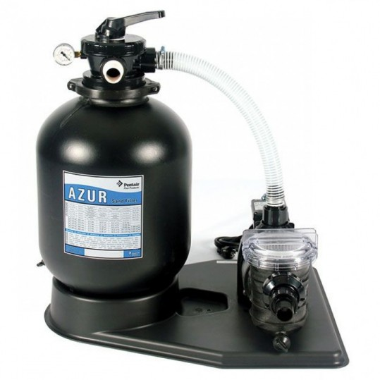 Фото - Фильтрационный комплект Pentair Azur Kit 475 с насосом SW-15M, 0,55 кВт - 9,0 м³/ч