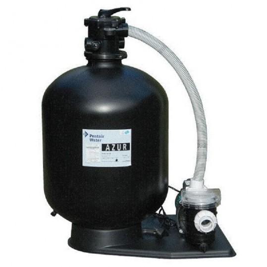 Фото - Фильтрационный комплект Pentair Azur Kit 475 с насосом SW-12M, 0,37 кВт - 9,0 м³/ч