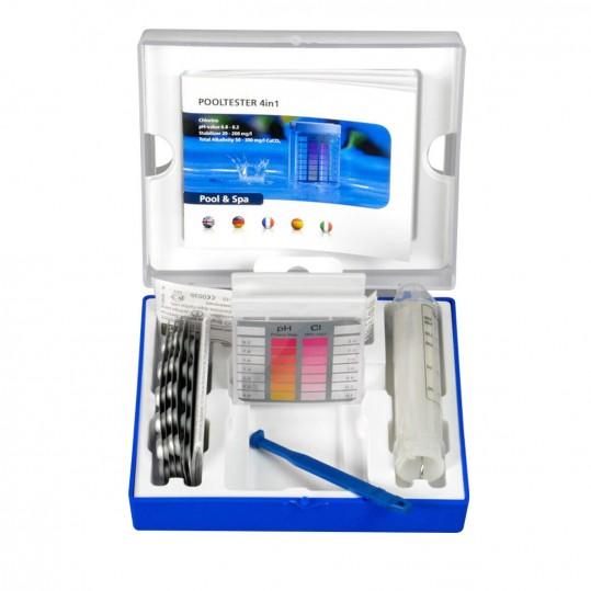 Фото - Тестер AquaDoctor 4в1 таблеточный pH,CL,Cy,Alk (20 тестов)