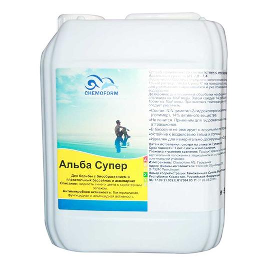 Фото - Средство против водорослей Chemoform Alba Super 5 л.  (жидкий)