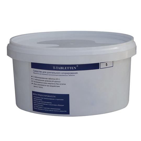 Фото - Хлор длительного действия Chemoform Chemochlor-T-Tabletten 5 кг (табл. 20 г)