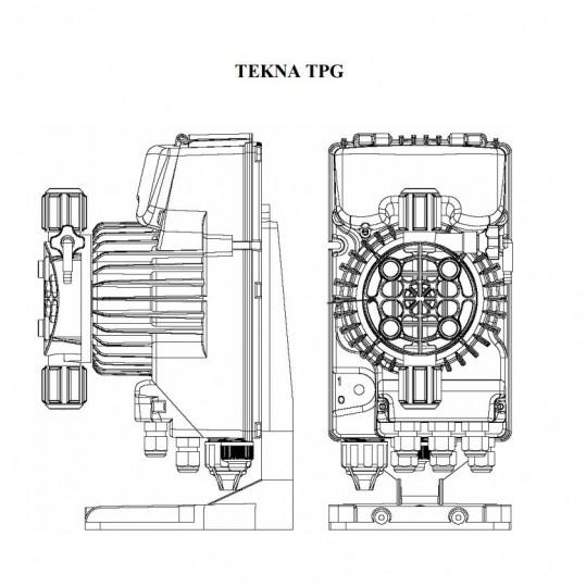 Дозирующий насос Seko Tekna EVO TPG 803 (25 л/час, цифровой)
