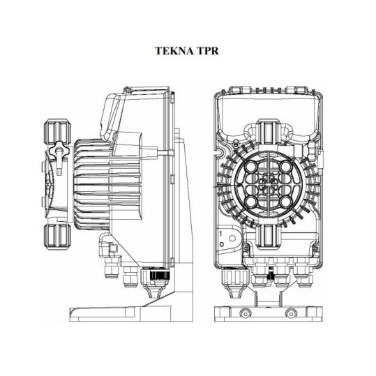 Дозирующий насос Seko Tekna EVO TPR 603 (5 л/час, pH/Rx, цифровой)