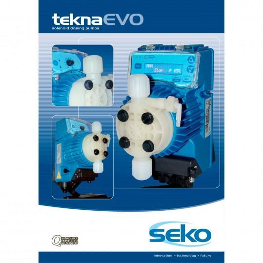 Дозирующий насос Seko Tekna EVO TPR 803 (40 л/час, pH/Rx, цифровой)