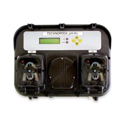 Фото - Дозирующая станция PH RX c перистальтическими насосами 1,4 л/ч, 1 Bar и цифровым дисплеем
