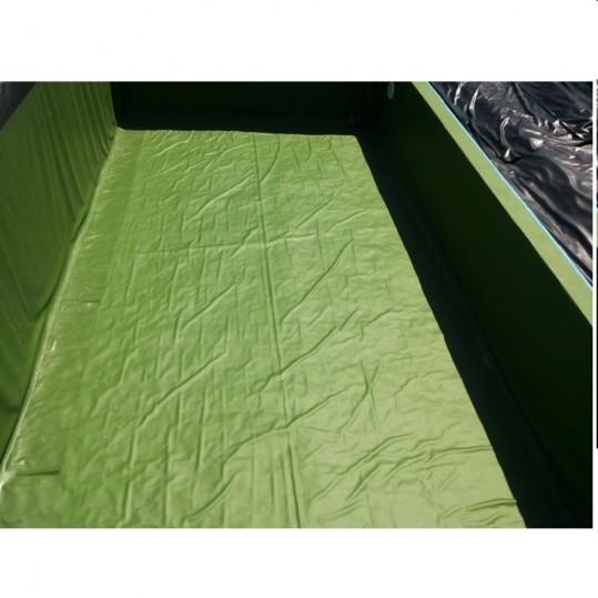 Плёнка ПВХ для искусственных водоемов (оливковая , 1,5мм .)