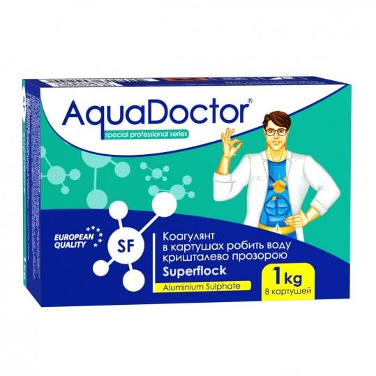 Фото - Средство против мутной воды Aquadoctor Superflock 1 кг (картриджи)