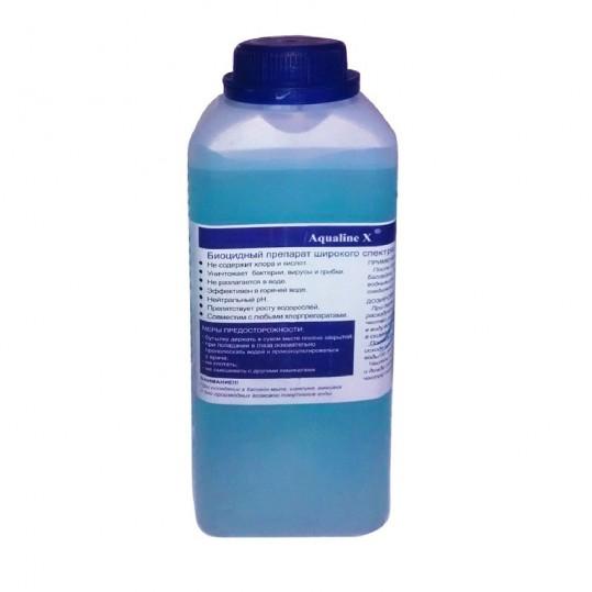 Фото - Дезинфекция 3 в 1 Aqualine X  1 л. (жидкий)