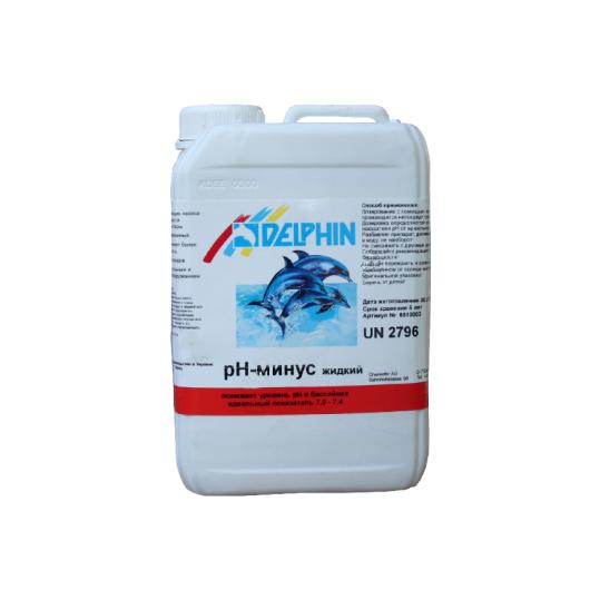 Фото - Регулятор pH Delphin рН-Минус 3л (жидкий)
