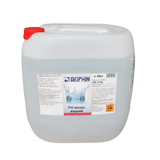 Фото - Регулятор pH Delphin рН-Минус 40кг (жидкий)