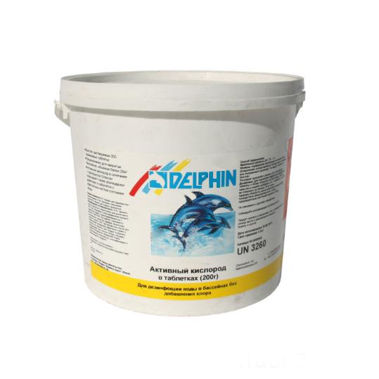 Фото - Активный кислород Delphin Aquablanc 3кг (табл.200г)