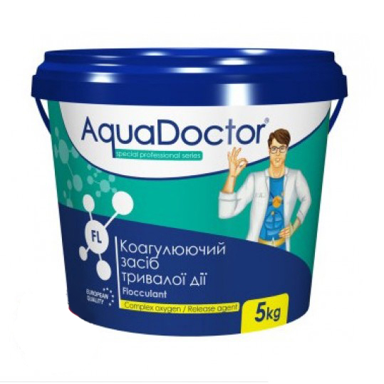 Фото - Средство против мутной воды Aquadoctor FL 5кг (гранулы)