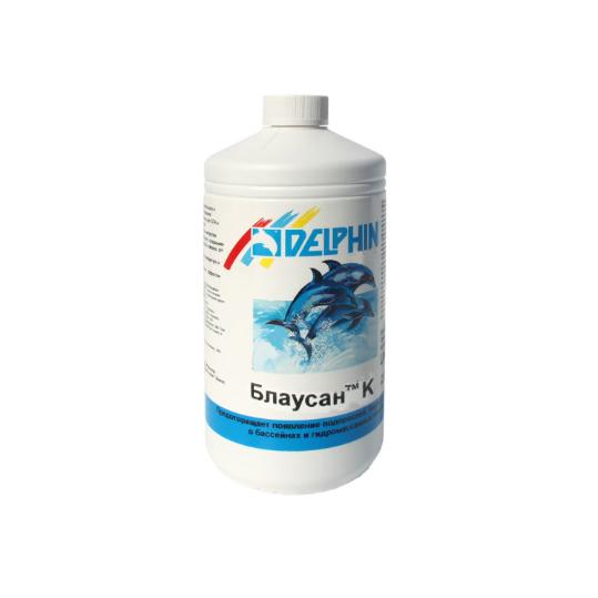 Фото - Средство против водорослей Delphin Блаусан К 1л (жидкий)