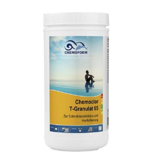 Фото - Хлор шокового действия Chemoform Chemochlor-T-Granulat 65 1 кг (гранулы)
