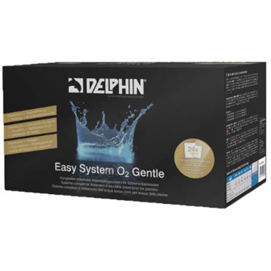 Фото - Бесхлорная дезинфекция Delphin Easy System O2 Gentle (Порционные пакеты)