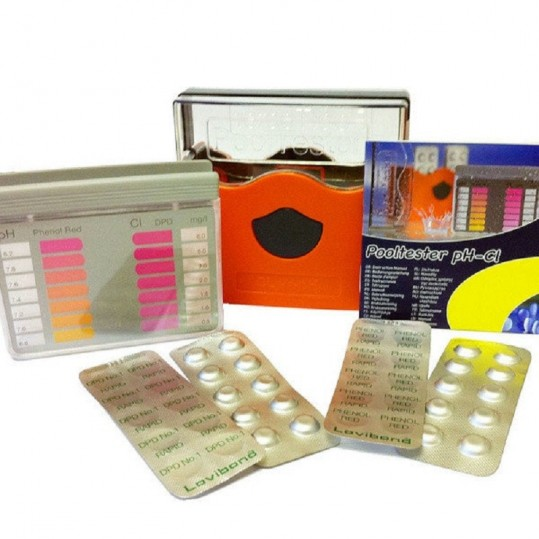 Фото - Тестер DPD  Cl / pH метод - исп. таблетки, 1 к-т