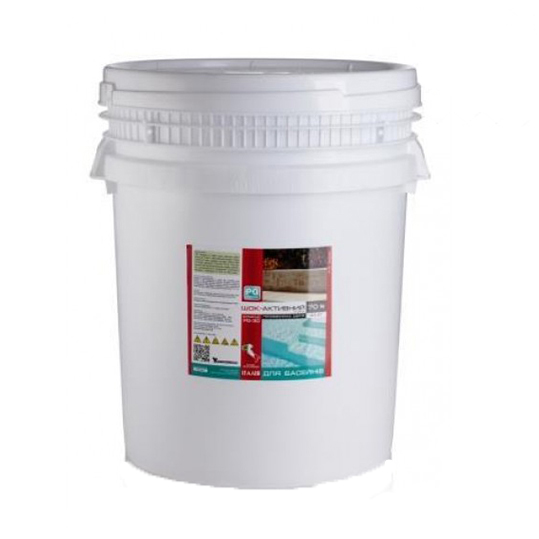 Фото - Хлор шокового действия Barchemicals PG-30.25 (70%) 25кг (гранулы)