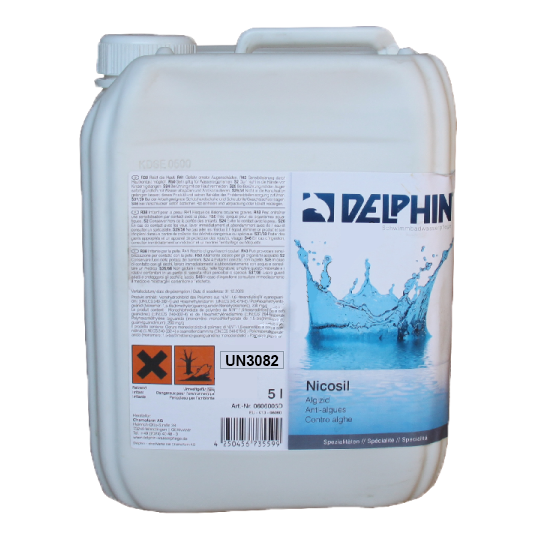 Фото - Бесхлорная дезинфекция Delphin Nicosil* 5л (жидкий)