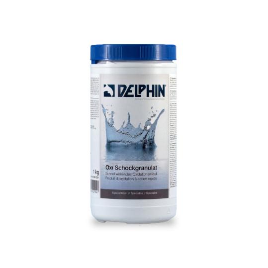 Фото - Хлор шокового действия Delphin Oxi - шок 1кг (гранулы)