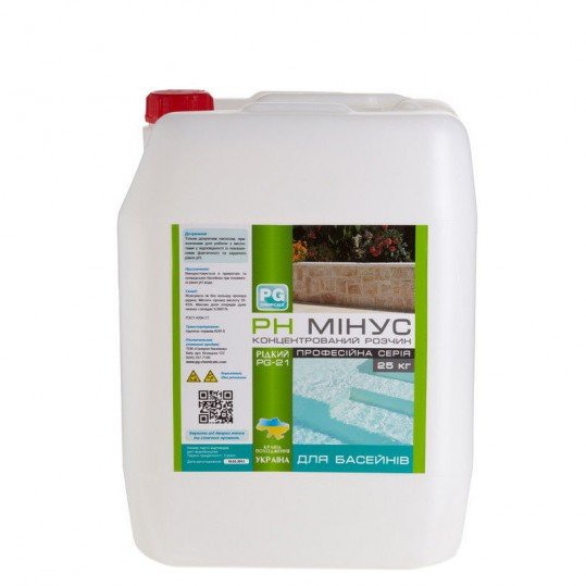 Фото - Регулятор pH Barchemicals pH минус 25 кг (жидкий)