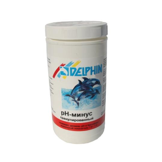 Фото - Регулятор pH Delphin рН-Минус 1,5 кг (гранулы)