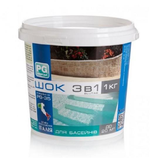 Фото - Хлор шокового действия Barchemicals PG-35.1 (56%) 1 кг (табл. 20 г)