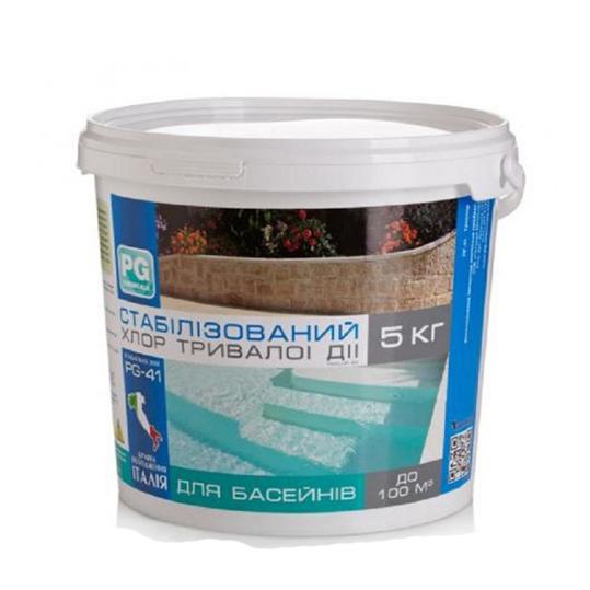 Фото - Стабилизированный хлор длительного действия 90% Barchemicals 5 кг. (табл. по 200 г.)